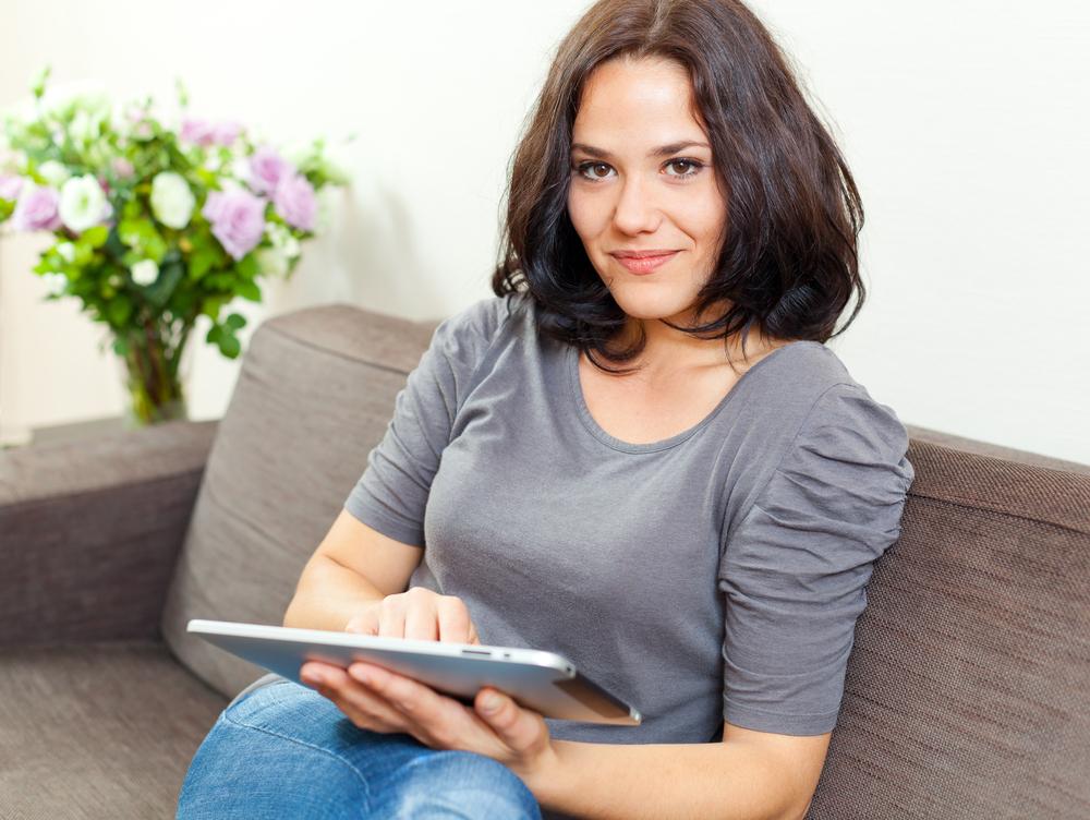 the biostation - Woman Taking Hormone Test